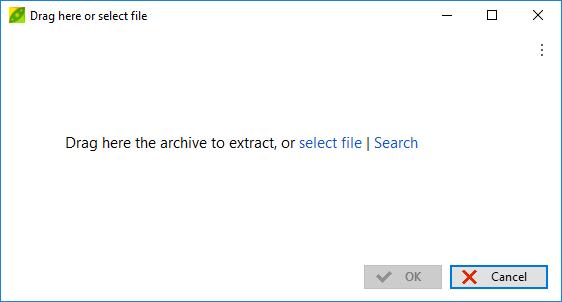 exe extractor windows 7