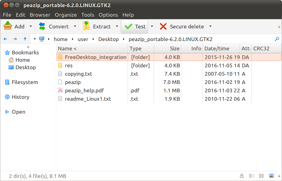 Download PeaZip for Linux x86-64, free 7Z RAR TAR ZIP