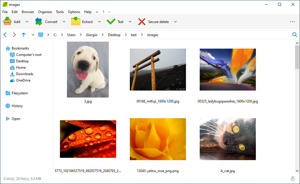 Image viewer, manage JPEG PNG BMP TIFF graphic files