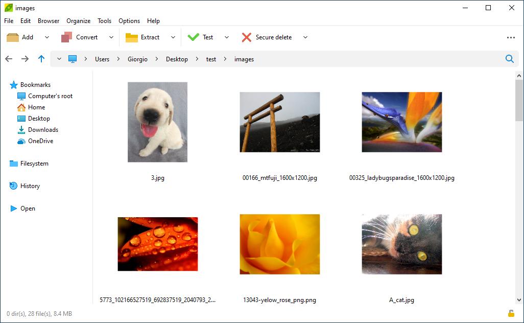 برنامج PeaZip 4.9.0 لضغط الملفات أحدث إصدار